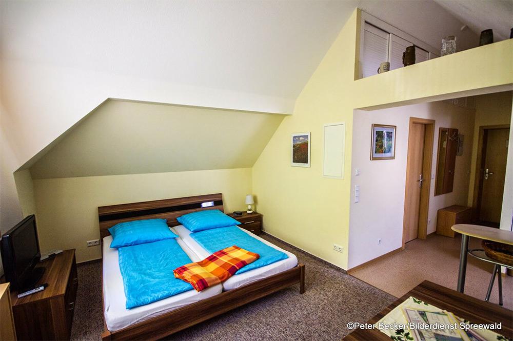 Kleine Ferienwohnung im Kuschelnest am Schwielochsee
